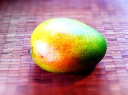 A fresh mango. One of my favourite fruits