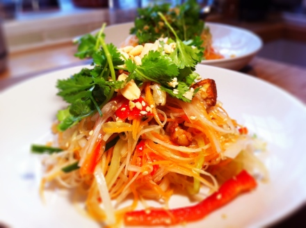 Thai tom sum - my all-time favourite oriental salad