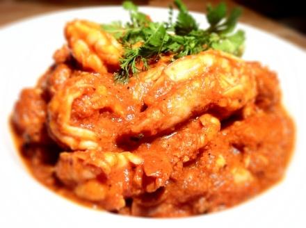 Yummy yummy chilli prawns
