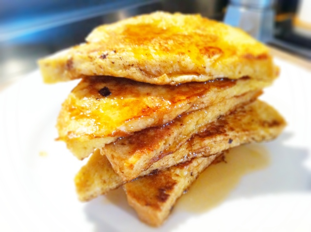 Eggy bread is one of the most awesome of awesome breakfasts