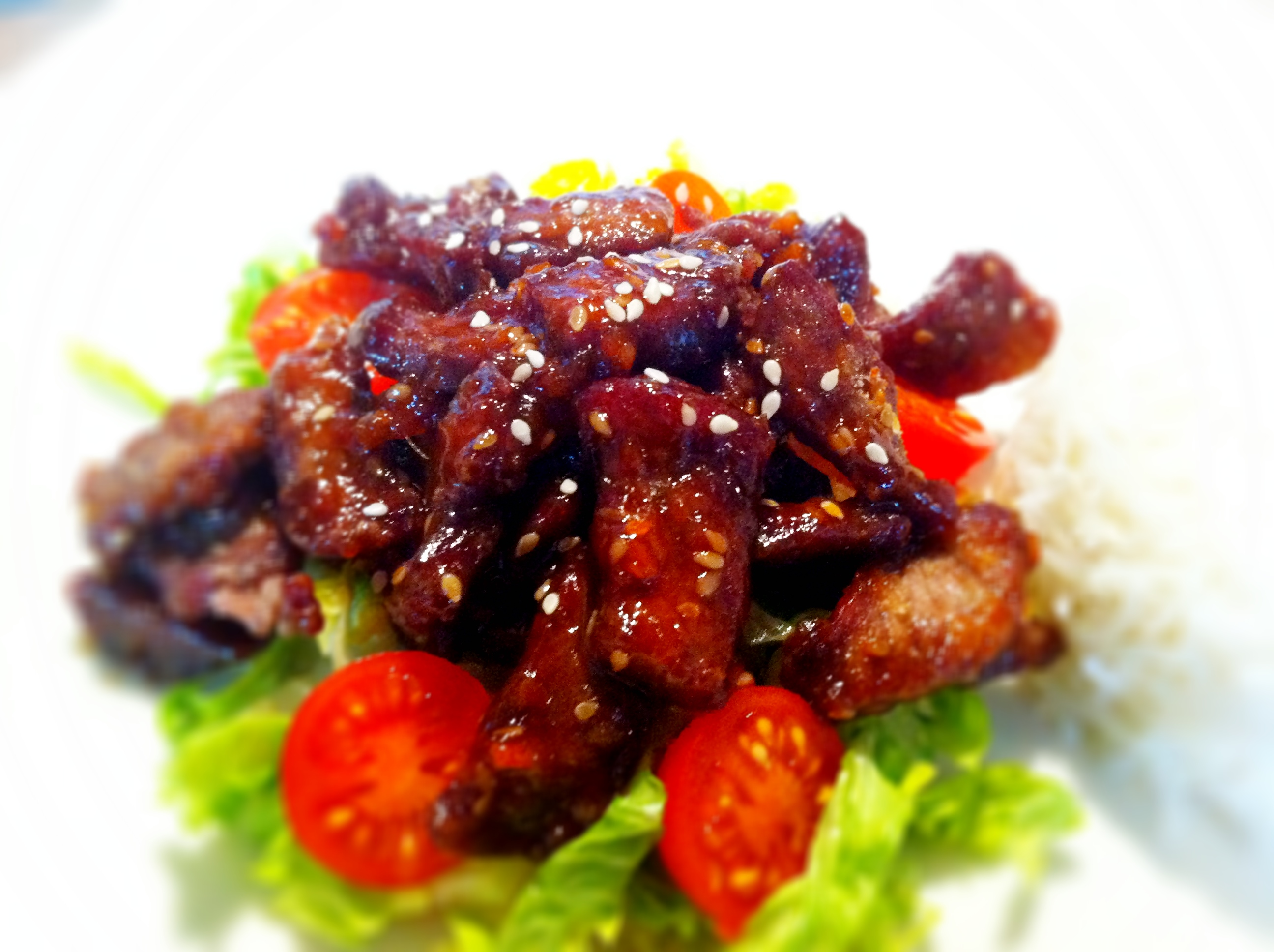 Crispy chilli beef is so much easier to make than you might think.