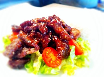A MUCH tastier and better version of the classic crispy chilli beef than what your take-away will ever offer.