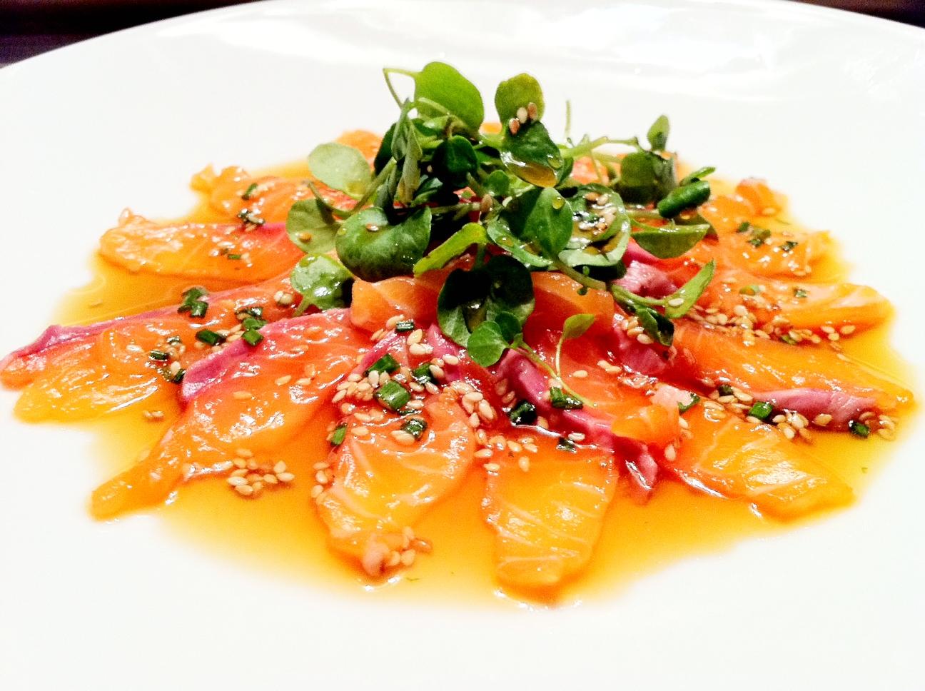 How To make SALMON CARPACCIO - Salmon carpaccio video recipe ...