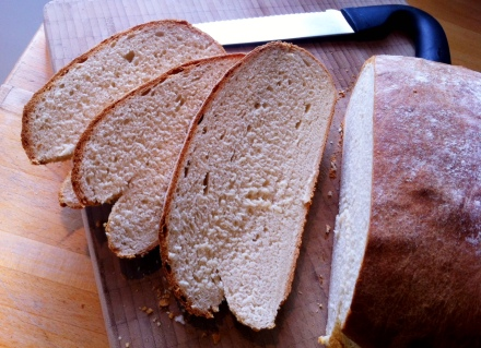 easy-to-bake milk bread.