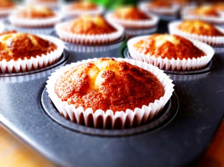 Simple banana cupcakes - really easy and uncomplicated to make.